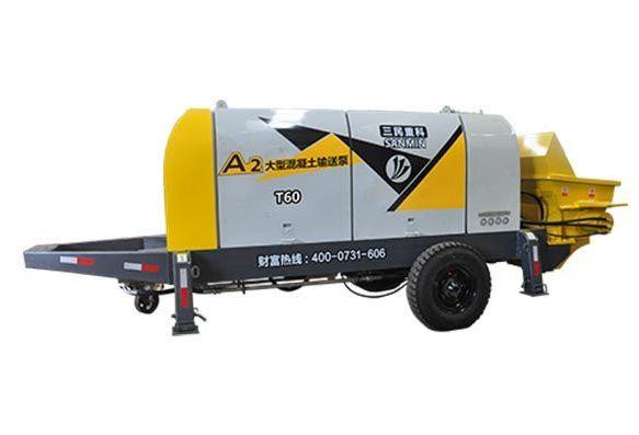 小型混凝土输送泵-HBT60C-13-90S