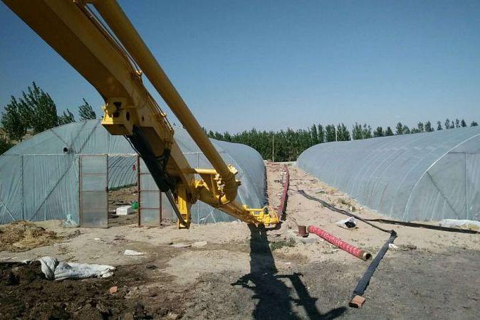 三民重科小型混凝土搅拌泵车助力老挝南欧江梯级水电开发
