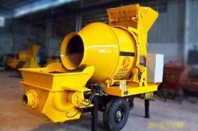 三民重科滚筒式搅拌拖泵参与金安桥水电站建设