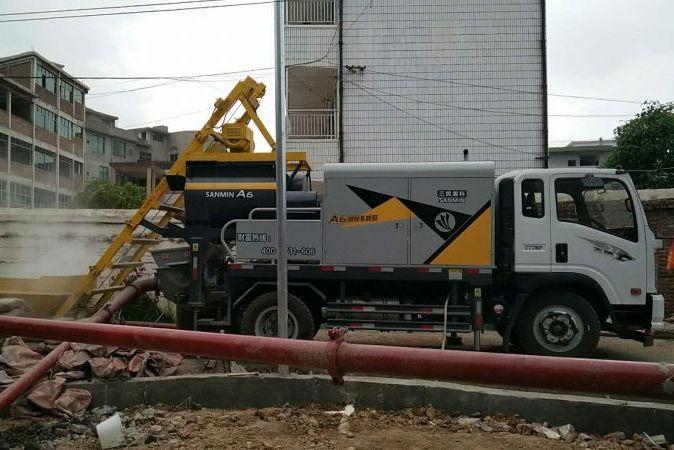 三民重科搅拌车载泵帮他从货车司机转变为豪车老板